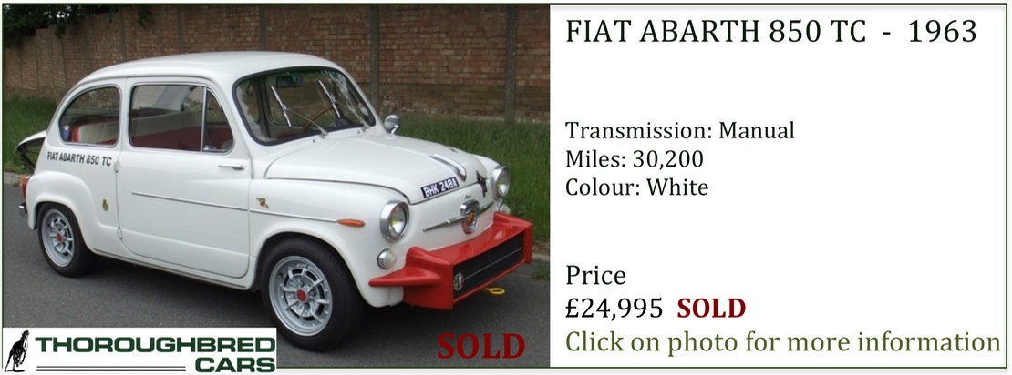 Abarth sold